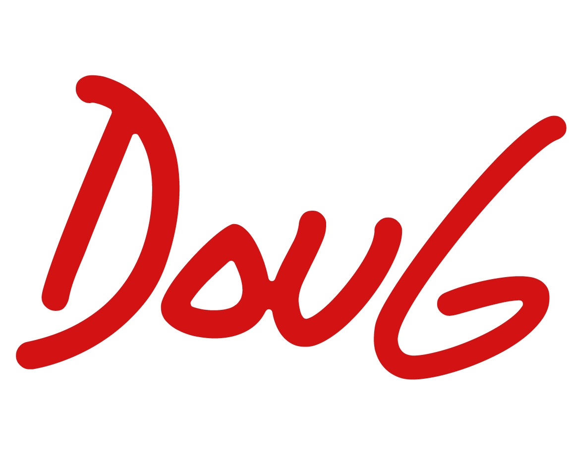 This image has an empty alt attribute; its file name is Doug-logo.jpg